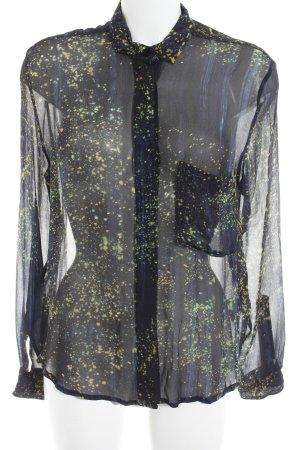 Samsøe & samsøe Hemd-Bluse abstraktes Muster Street-Fashion-Look