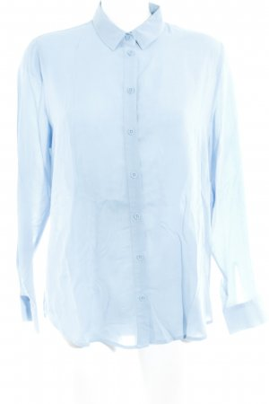 Samsøe & samsøe Hemd-Bluse kornblumenblau Business-Look