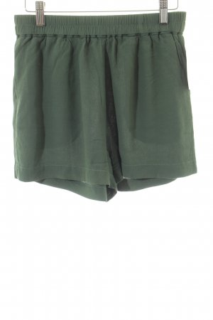 Samsøe & samsøe High-Waist-Shorts waldgrün Casual-Look