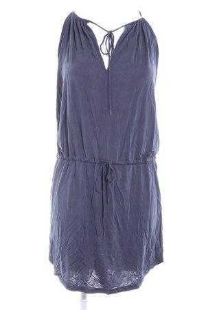 Samsøe & samsøe Kurzarmkleid graublau schlichter Stil