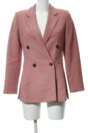 Samsøe & samsøe Long-Blazer rosa Business-Look