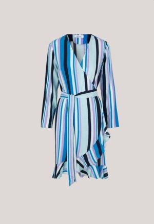 Samsoe Samsoe Neu Wickelkleid Kleid blau S 36