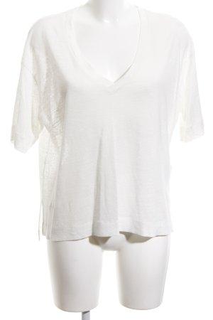 Samsøe & samsøe Oversized shirt wit simpele stijl