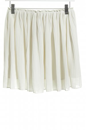 Samsøe & samsøe Pleated Skirt oatmeal hippie style
