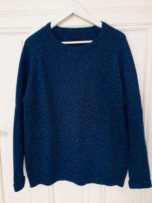 Samsoe & Samsoe Pulli schöner Pullover 60% Wolle Gr. XL Rold o-neck