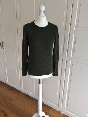 Samsøe & Samsøe Pullover Wolle grün