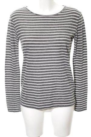 Samsøe & samsøe Gestreept shirt lichtgrijs-wit gestreept patroon