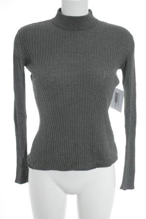 Samsøe & samsøe Rollkragenpullover grau minimalistischer Stil