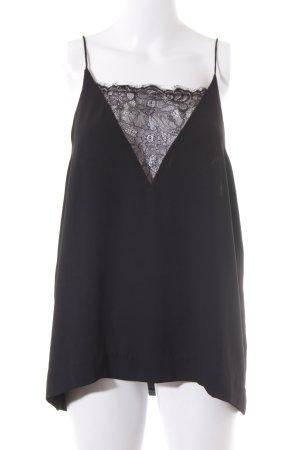 Samsøe & samsøe Lace Top black lingerie style