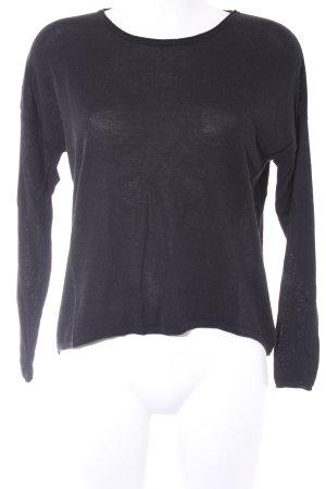 Samsøe & samsøe Camisa tejida negro look casual