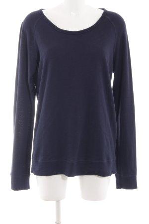 Samsøe & samsøe Sweatshirt blau Casual-Look