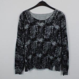 SAMSOE & SAMSOE Sweatshirt Gr. M schwarz grau gemustert (18/10/131)