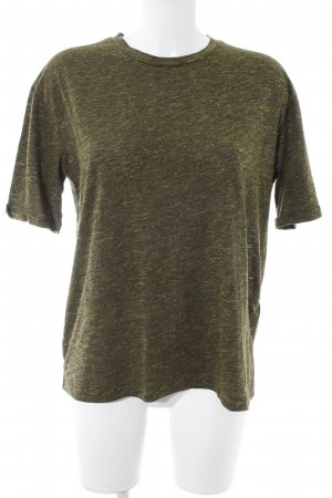 Samsøe & samsøe Camiseta gris verdoso-verde claro moteado look casual