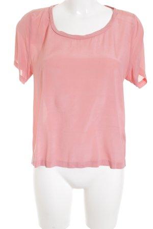 Samsøe & samsøe T-Shirt rosa schlichter Stil