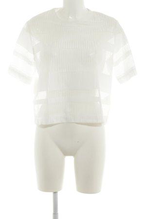 Samsøe & samsøe Blouse transparente blanc style décontracté