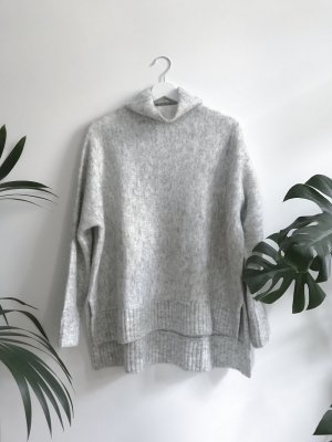 Samsøe & Samsøe White Melange Turtleneck Sweater