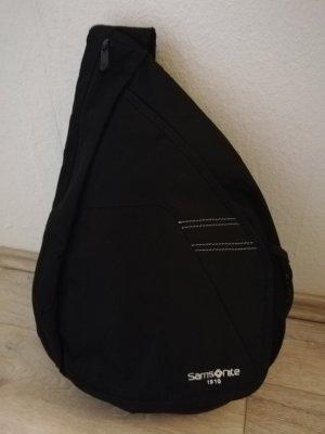 "Samsonite ""1910"" Crossbag/Eingurtrucksack/Slingbag in schwarz"