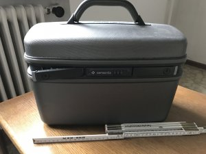 Samsonite Make-up Kit light grey-silver-colored