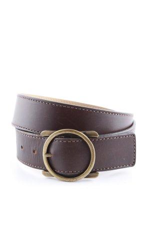 Samsonite Leather Belt brown business style