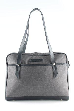 Samsonite Sacoche d'ordinateur gris-noir moucheté style d'affaires