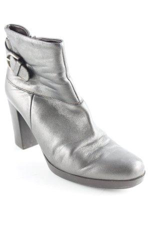 Samsonite Reißverschluss-Stiefeletten bronzefarben Casual-Look