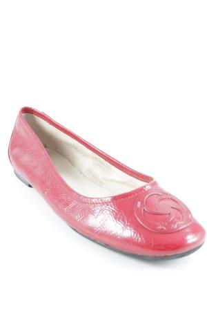 Samsonite Slip-on rouge foncé style décontracté