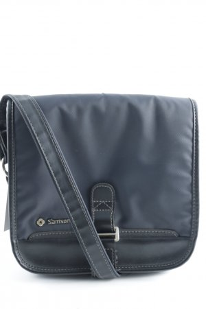 Samsonite Shoulder Bag black-dark blue casual look