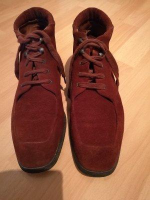 Samsonite Stiefeletten Schnürschuhe Boots Wildlederschuhe 39