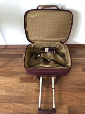 Samsonite Trolley bordeaux Materiale sintetico