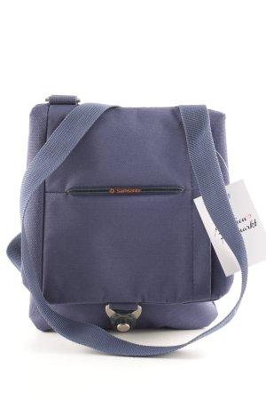Samsonite Crossbody bag steel blue athletic style