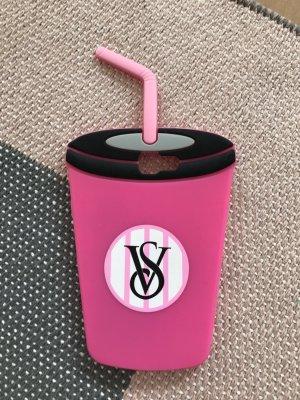 Victoria's Secret Carcasa para teléfono móvil rosa neón