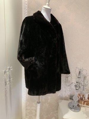 Pelt Jacket black-black brown