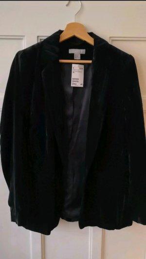 Samt blazer