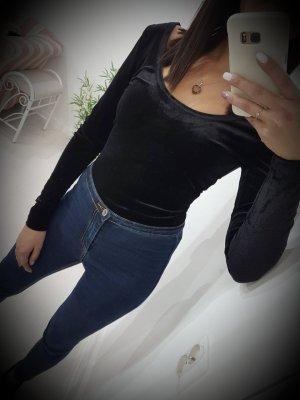 Bodyblouse zwart