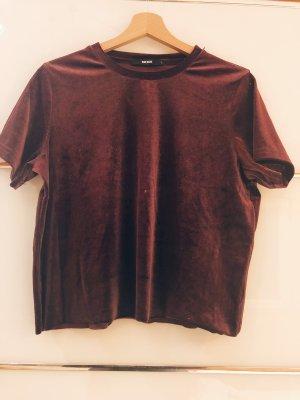 Bik Bok Cropped shirt bordeaux