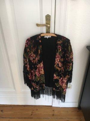 Zara Kimono sweater veelkleurig
