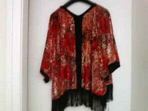 Miss Selfridge Blazer de esmoquin rojo-marrón oscuro