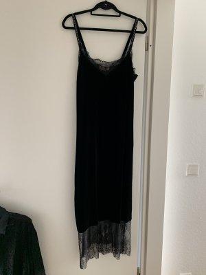 Samt Kleid Designer Marke Twin Set