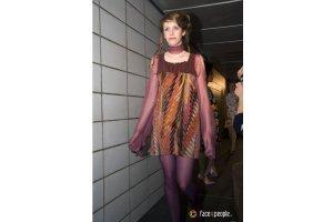 Vestido corte imperio multicolor Algodón