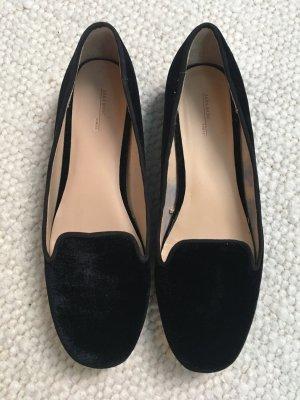 Zara Slippers black-cream