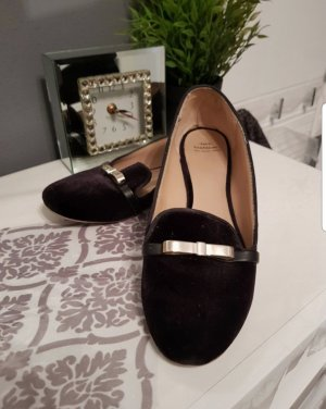 Samt loafer Zara