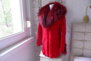 0039 Italy Fur Jacket red pelt