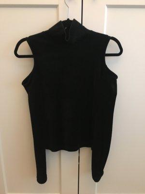Zara Top cut out negro