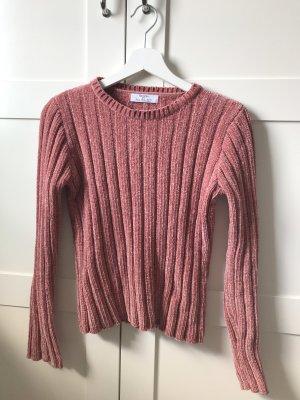 Samt Pullover zu verkaufen
