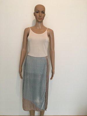 Maxi Skirt dusky pink-pale blue