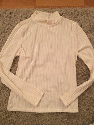 Samt- Rollkragen Shirt
