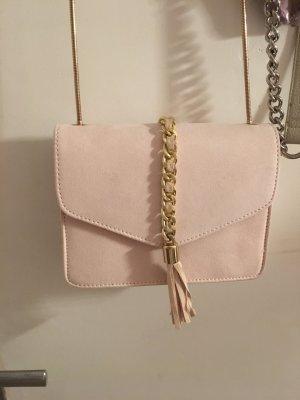 Samt rosa mini Tasche von orsay