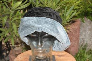 Chapeau à larges bords noir-gris