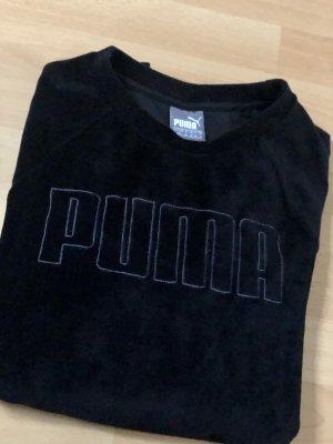 Samt Sweater, Puma, schwarz