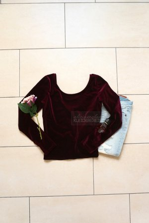 Crop-top multicolore